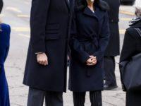 Пальто-трансформер и туфли-оксфорды Uterqüe, которое носит королева Летиция
