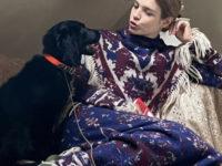 Платье-ковер: Наталья Водянова в самом уютном образе Paco Rabbane