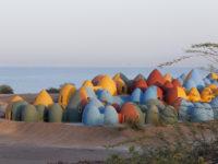 Разноцветная деревня в Иране