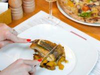 Рецепт дня: филе палтуса с запеченной тыквой, грибами и сливочным соусом