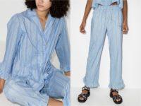 Sleep, sugar: бренд GANNI выпустил коллекцию одежды для сна и дома