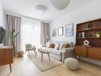 Светлая квартира 57 м² для молодого врача в Варшаве