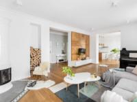 Уютная квартира с изразцовой печью в Варшаве