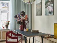 Цвет, экспрессия, максимализм: уютный дом в Копенгагене