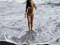 Для идеального загара: Жизель Оливейра показала купальник, в котором вы захотите провести ближайший отпуск на море