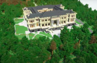 «Дворец Путина» построили в игреMinecraft