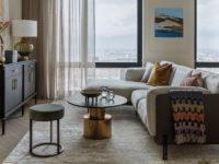 Гостиная с двумя окнами: 25+ примеров