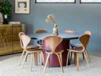 Круглые ковры в интерьере: 20 стильных примеров
