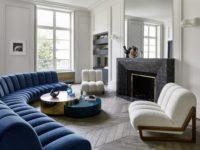 Квартира в Париже по дизайну Humbert & Poyet
