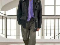 Лавандовый, винный и другие главные оттенки следующей осени в коллекции Hermès Men's Fall 2021