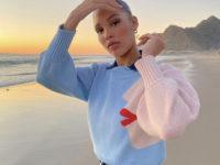 Нара Пеллман нашла идеальный зимний свитер для январских праздников