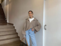 С чем носить угги зимой? Пример стилиста Софии Коэльо