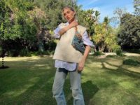 Вязаный жилет— лучшая покупка сезона: доказывает Эльза Хоск