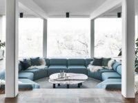 Двухэтажная вилла в Швеции для семьи дизайнеров