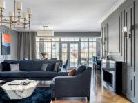 Двухэтажный коттедж с мансардой 220 м²: проект студии Balcon