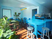 Голубое кафе Tipico Coffee в Буффало