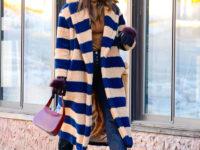 Как одеваться, когда на улице невыносимо холодно? Мастер-класс от Ирины Шейк