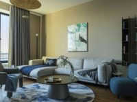 Минималистичный интерьер в теплых тонах для двухкомнатной квартиры