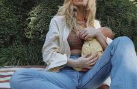 Минутка нежности: Эльза Хоск поделилась первыми совместными снимками с дочерью
