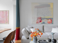 Московская квартира с яркими акцентами 134 м²