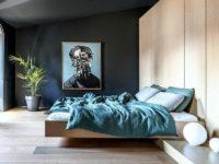 Низкая кровать: 35 примеров для спальни