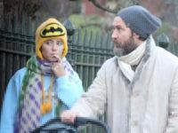 Семейные узы: Джуд Лоу на прогулке с дочерью-моделью Айрис