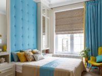 Текстильные панели в спальне: 30+ примеров