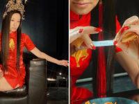 В чем встретила свой год Вера Вонг