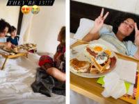 Завтрак в постель и подарки: как Дженнифер Лопес поздравила своих близнецов с днем рождения