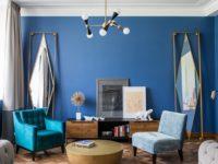 Зеркало в гостиной: 30+ идей