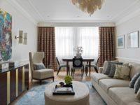 Американская классика для квартиры в Москве 155 м²