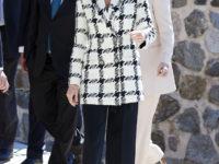 Беспроигрышный вариант: идеальный пиджак королевы Летиции, который стройнит