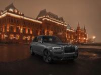 Дух России: лимитированная коллекция Rolls-Royce Cullinan Spirit of Russia прибыла на родину