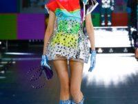 Киберпанк и постирония: самые необычные образы на показе Dolce&Gabbana FW21