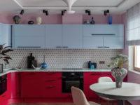 Красный и его оттенки на кухне: 25+ примеров