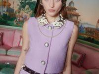 Кукольные платья и костюмы для хрупких бунтарок: Alessandra Rich FW21