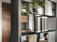 Лаконичная квартира 80 м² для отца и сына в Москве