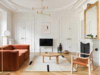 Парижская квартира в стиле джапанди