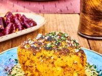 Полезный ужин: запеченная цветная капуста с пряностями и соусом по рецепту мишленовского шеф-повара