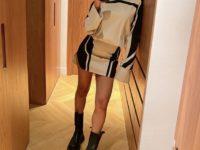 С чем носить очень короткую юбку? Показывает дизайнер Амина Муадди