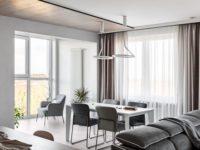 Скандинавская квартира 140 м² в Петрозаводске