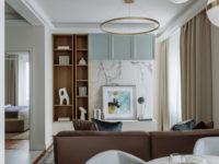 Светлая квартира 60 м² для молодой пары из Петербурга