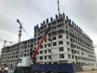 В доме для обманутых дольщиков в Рязановском поселении началось возведение 9-го этажа