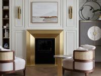 Бра в гостиной: 25+ ярких примеров