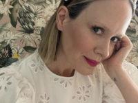 Еще одна из рода H&M: Сара Полсон в самом красивом платье из исчезнувшей коллекции