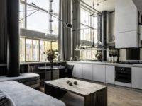 Квартира в доме Наркомфина: проект Натальи Белоноговой