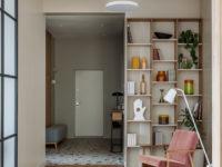 Московская квартира 130 м² в пастельных тонах