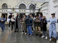 Презентация новой коллекции ECCO и иммерсивная прогулка по центру Москвы. Как это было?