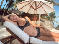 «Тигрица» на отдыхе: пляжный образ Девон Виндзор