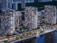 Девелопер жилого комплекса в Левобережном районе завершил реконструкцию участка набережной канала им. Москвы